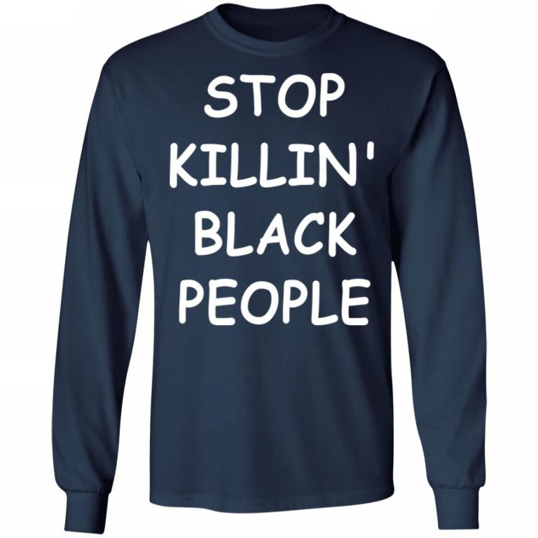 George Floyd Stop Killing Black People shirt - AmazeTees ...